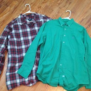 3 Polo Ralph Lauren Shirts